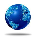 全球连接数 库存图片