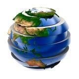 全球难题 库存例证