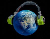 全球音乐 向量例证
