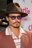 约翰尼Depp 免版税库存照片
