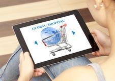 全球购物 库存图片