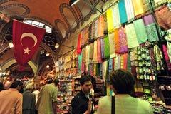 全部义卖市场伊斯坦布尔 免版税库存图片