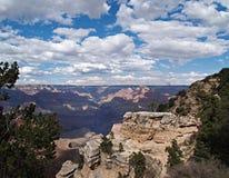 全部亚利桑那的峡谷 免版税库存照片