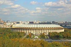 全部体育比赛场所在莫斯科 库存图片