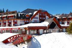 全部健康旅馆在Jasna低Tatras 库存照片
