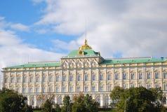 全部克里姆林宫宫殿。 莫斯科克里姆林宫,俄国。 免版税图库摄影