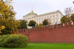 全部克里姆林宫宫殿的视图 库存照片