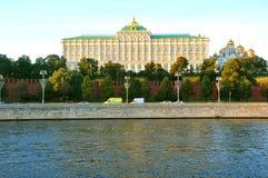 全部克里姆林宫宫殿 莫斯科 俄国 库存图片