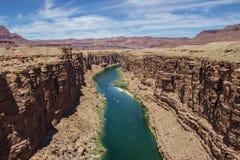 全部区的峡谷 库存图片