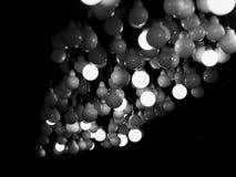 全部圆的电灯泡 免版税库存图片