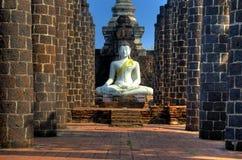 全部大厅maha sukhothai wat 库存照片