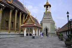 全部宫殿在曼谷 免版税库存图片
