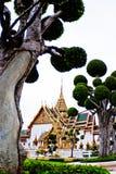 全部宫殿,曼谷 库存图片