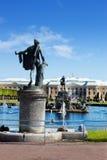 全部宫殿peterhof彼得斯堡圣徒 免版税库存照片