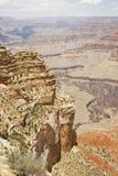 全部峡谷的峭壁 免版税库存图片
