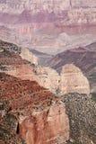 全部峡谷的特写镜头 免版税库存图片