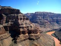 全部峡谷的飞行 库存照片