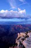 全部峡谷的黄昏 库存照片