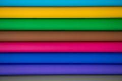 全部工艺想法的颜色纸 免版税库存图片