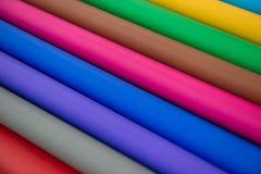 全部工艺想法的颜色纸 库存照片