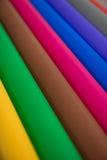 全部工艺想法的颜色纸 库存图片