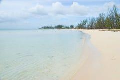 全部巴哈马的海滩 免版税库存照片