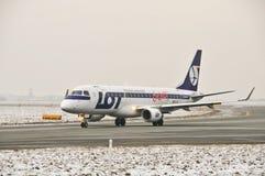 全部平面巴西航空工业公司170个SP-LII 免版税库存照片