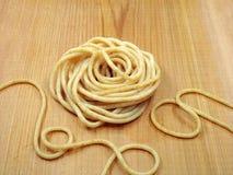 全部意大利面食的麦子 库存图片