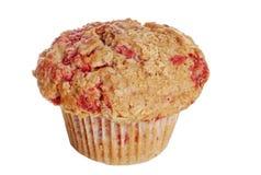 全部查出的松饼莓的麦子 免版税库存图片