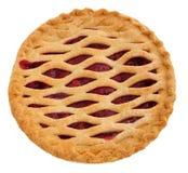 全部樱桃的饼 免版税库存照片