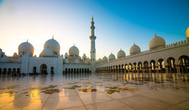 全部清真寺回教族长zayed 免版税图库摄影
