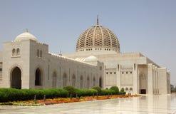 全部清真寺麝香葡萄阿曼 图库摄影