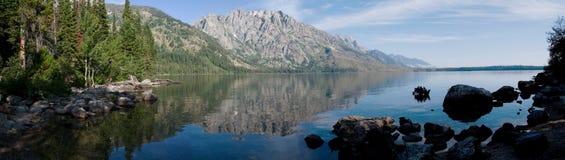 全部湖tetons 库存图片