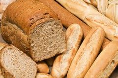 全部的做面包的粮谷 库存照片