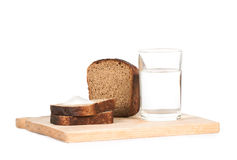 全部的做面包的粮谷 免版税库存照片