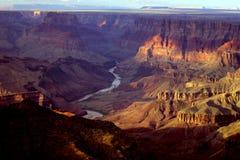 全部的峡谷 免版税库存照片