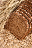 全部的普通小麦 免版税库存图片