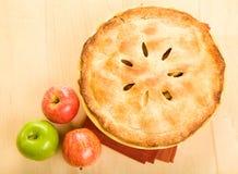 全部的苹果饼 免版税图库摄影