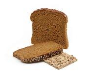 全部的谷物面包 免版税库存图片