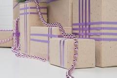 全部礼物盒在一个地方 库存图片