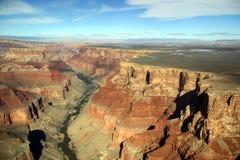 全部空中的峡谷 免版税图库摄影