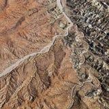 全部空中的峡谷 库存图片