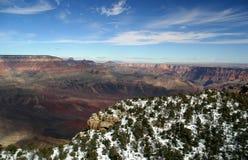 全部空中的峡谷 免版税库存照片