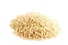 全部谷物即时的米 免版税库存图片
