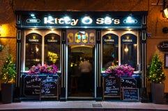 全部赌注Ose ` s酒吧,点燃,爱尔兰 免版税库存图片