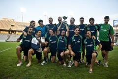 全部prix系列橄榄球7巴塞罗那2011年 免版税库存图片