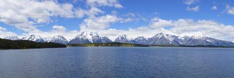 全部Teton山脉 免版税图库摄影