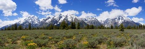全部Teton山脉 免版税库存图片