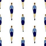 全长妇女 免版税库存照片