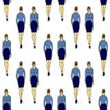 全长妇女 免版税图库摄影